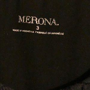 Merona Dresses - 3X Little Black Dress Stretchy Soft
